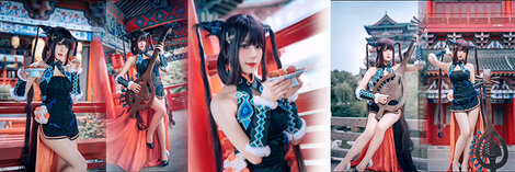 【二次元】美少女 cosplay コスプレ 沸きあがる喜びに身を任せる