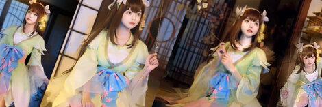 柔らかくて上質なコスプレ衣装が若い女性に人気