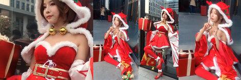 王者の栄光 貂蝉 コスプレ衣装 | クリスマス コスチューム コスプレ かわいい 赤い帽子 衣装 仮装 ハロウィーン