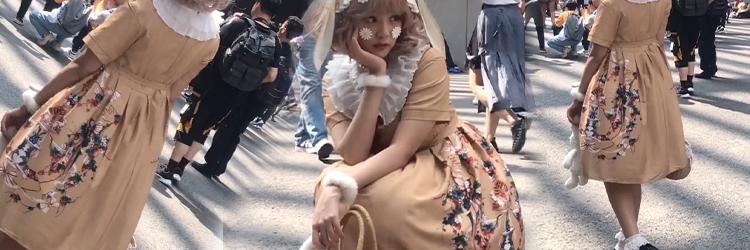 ロリータ コスプレ衣装 ロリータ服 女性の古典的なロリータ 可愛い ドレスロリ服 腕飾り ソックス ヘッドバンド