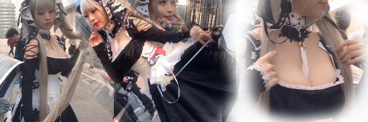 メイド服 コスプレ衣装 ヘアバンド、ワンピース、エプロン、首飾り、ハイソックス、装備の計6点フルセット