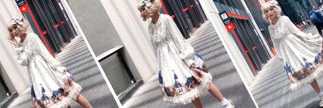 ロリータ服 Lolita ワンピース 長袖 コスプレ  レディース かわいい  エレガントな ロリータ服
