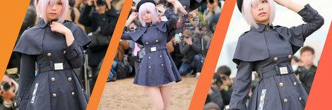 fgo 『Fate/Grand Order』マシュ・キリエライト アニメ服 ゲーム服 文化祭 学園祭 コスプレ衣装