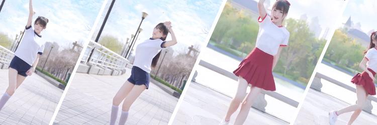 キルミーベイベー 白 上着 赤 半ズボン ハイソックス 3セット コスプレ衣装