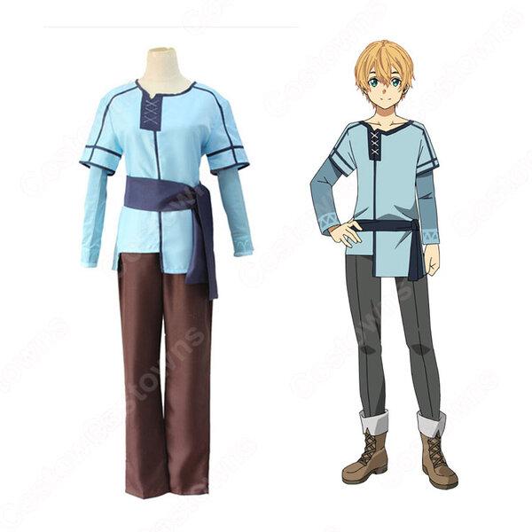 ユージオ コスプレ衣装 【ソードアート・オンライン】cosplay SAOアリシゼーション編 青い服元の画像
