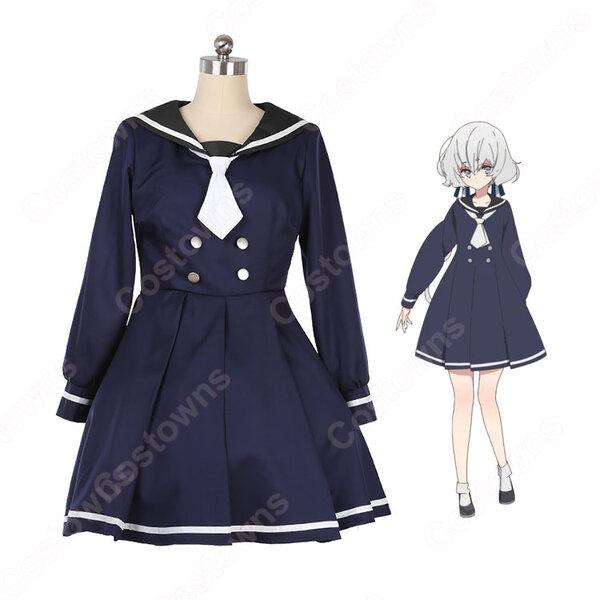 紺野純子 コスプレ衣装 【ゾンビランドサガ】cosplay 制服 オーダメイド可元の画像