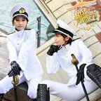 松竜提督 コスプレ衣装 【艦隊これくしょん-艦これ-】cosplay 戦艦大和 海軍服