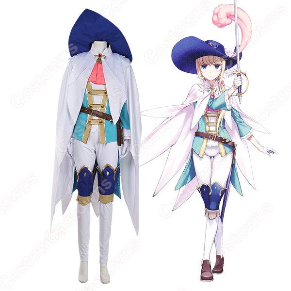 シュヴァリエ・デオン コスプレ衣装 【Fate/Grand Order】cosplay 戦闘服 オーダメイド可元の画像