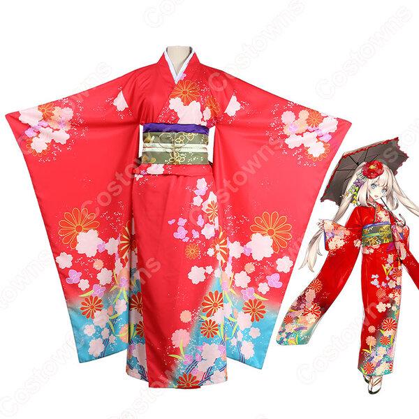 マリー・アントワネット コスプレ衣装 【Fate/Gand Order】 着物 オーダメイド可元の画像