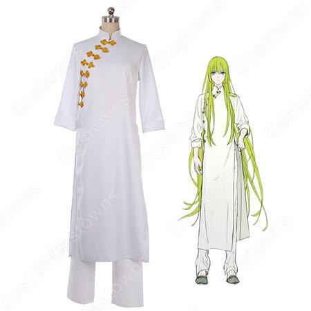 エルキドゥ コスプレ衣装 【Fate/Gand Order】 サーヴァントと巡る世界展 英霊旅装 cosplay オーダメイド可   Costowns