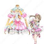 南ことり コスプレ衣装 【ラブライブ!】〈アイドル衣装編 覚醒後〉cosplay ライブ衣装