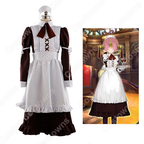 フランケンシュタイン コスプレ衣装 【Fate/Grand Order】cosplay 英霊正装 メイド服 オーダメイド可元の画像