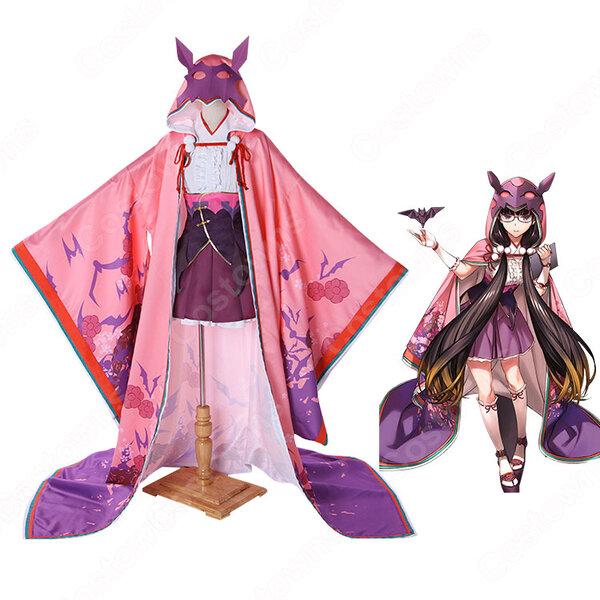 刑部姫 コスプレ衣装 【Fate/Grand Order】cosplay 霊基再臨 第一段階 アサシン 戦闘服 オーダメイド可元の画像