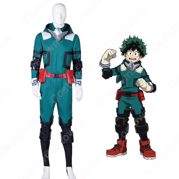 緑谷出久 コスプレ衣装 【僕のヒーローアカデミア】 cosplay 戦闘服元の画像