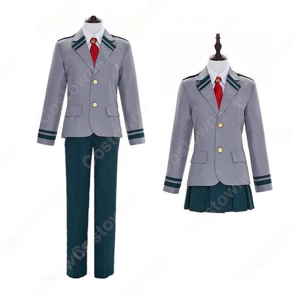 緑谷出久 麗日お茶子 コスプレ衣装 【僕のヒーローアカデミア】 cosplay 雄英高校制服元の画像