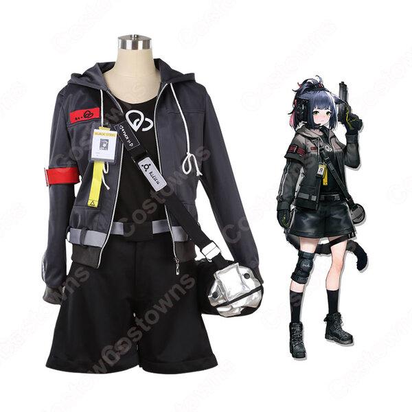 ジェシカ コスプレ衣装 【アークナイツ】 cosplay JESSICA 戦闘服 オーダメイド可元の画像