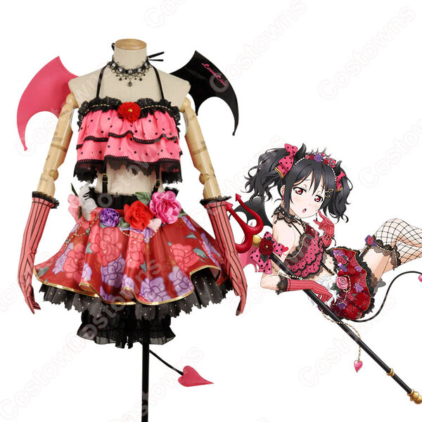 矢澤にこ コスプレ衣装 【ラブライブ!】〈小悪魔編 小悪魔猛特訓!〉 覚醒後 cosplay元の画像