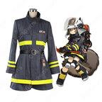 ショウ コスプレ衣装 【アークナイツ】cosplay SHAW 消防服