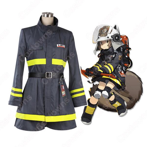 ショウ コスプレ衣装 【アークナイツ】cosplay SHAW 消防服 オーダメイド可元の画像