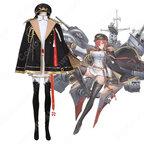モナーク コスプレ衣装 【アズールレーン】 cosplay ロイヤル 戦艦 初期衣装