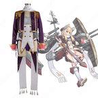 ウォースパイト コスプレ衣装 【アズールレーン】 cosplay ロイヤル 戦艦 初期衣装