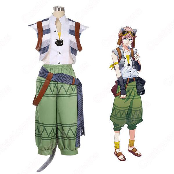 向坂椋 コスプレ衣装 【A3!】 cosplay エースリー 夏組 にぼしを巡る冒険 衣装 オーダメイド可元の画像