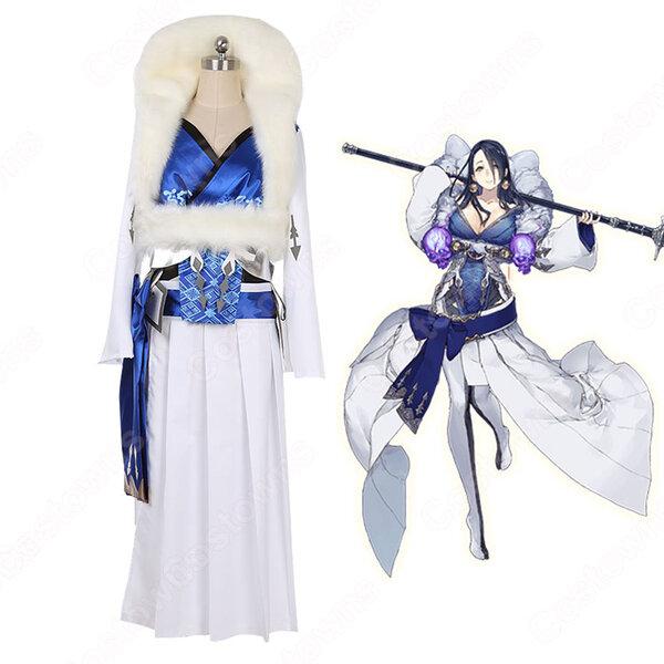 かぐや姫 コスプレ衣装 シノアリス【SINoALICE】 被虐 衣装 オーダメイド可元の画像