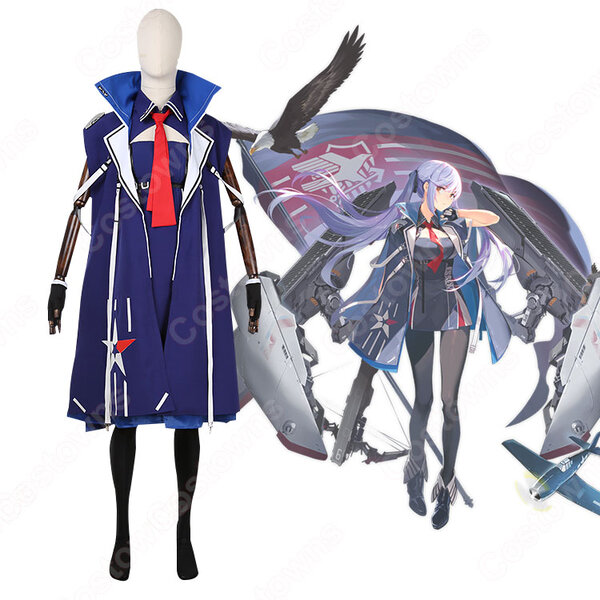 エセックス コスプレ衣装 【アズールレーン】 cosplay ユニオン 正規空母 初期衣装 オーダメイド可元の画像