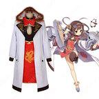平海 コスプレ衣装 【アズールレーン】 cosplay 東煌 軽巡洋艦 初期衣装