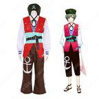 瑠璃川幸 コスプレ衣装 【A3!】 cosplay エースリー 夏組 抜錨!スカイ海賊団 海賊服