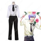 斑鳩三角 コスプレ衣装 【A3!】 cosplay エースリー 夏組 開花の予感 開花後 シャツ
