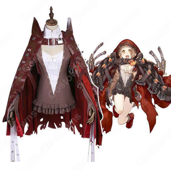 赤ずきん コスプレ衣装 シノアリス【SINoALICE】 cosplay 暴力 衣装 オーダメイド可元の画像