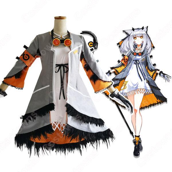 フィリオプシス コスプレ衣装 【アークナイツ】 cosplay 白面鸮 Ptilopsis 戦闘服元の画像