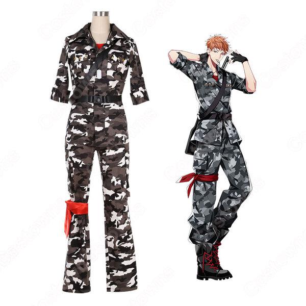 毒島メイソン理鶯 コスプレ衣装 【ヒプノシスマイク】cosplay -Division Rap Battle- ヨコハマ・ディビジョン「MAD TRIGGER CREW」 スーツ オーダメイド可元の画像