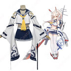 綾波 コスプレ衣装 【アズールレーン】 cosplay 重桜 駆逐艦 改装後衣装