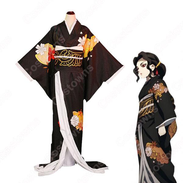 鬼舞辻無惨 コスプレ衣装 【鬼滅の刃】 cosplay 和服元の画像