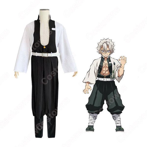 不死川実弥 コスプレ衣装 【鬼滅の刃】 cosplay 風柱 隊服元の画像