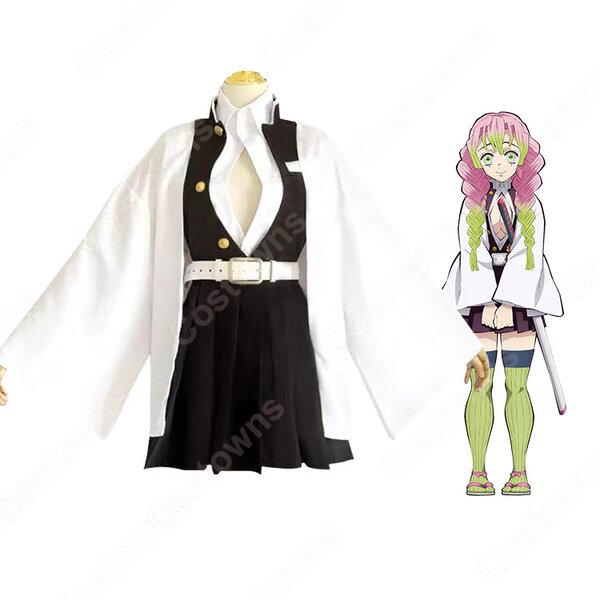 甘露寺蜜璃 コスプレ衣装 【鬼滅の刃】 cosplay 恋柱 隊服元の画像