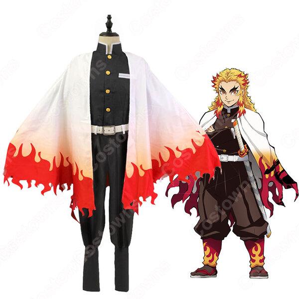 煉獄杏寿郎 コスプレ衣装 【鬼滅の刃】 cosplay 炎柱 隊服元の画像