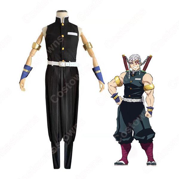 宇髄天元 コスプレ衣装 【鬼滅の刃】 cosplay 音柱 隊服元の画像