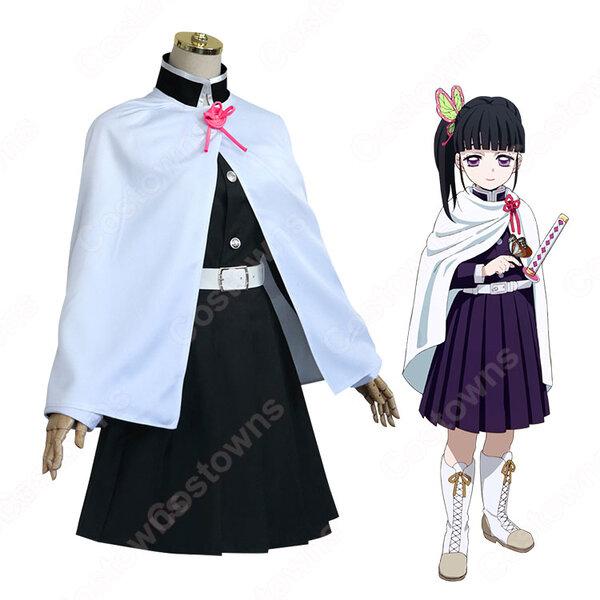 栗花落カナヲ コスプレ衣装 【鬼滅の刃】 cosplay 剣士 隊服元の画像