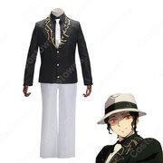 鬼舞辻無惨(きぶつじむざん) コスプレ衣装 【鬼滅の刃】 cosplay スーツ