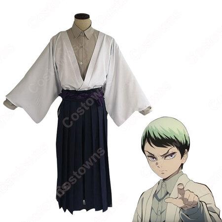 愈史郎 コスプレ衣装 【鬼滅の刃】 cosplay 和服