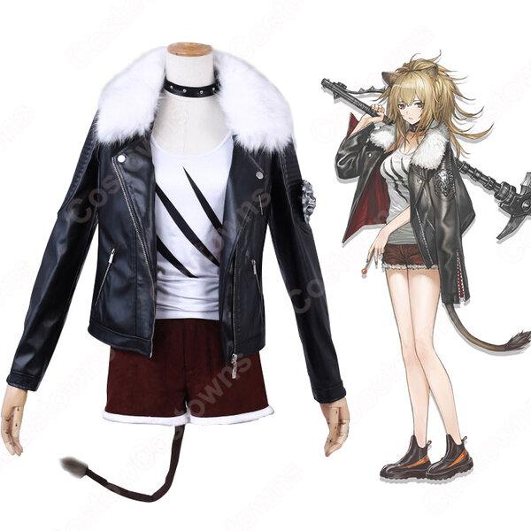 シージ コスプレ衣装 【アークナイツ】 cosplay 推进之王 Siege 戦闘服元の画像