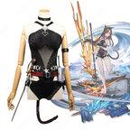 スカイフレア コスプレ衣装 【アークナイツ】 cosplay 天火 Skyfire 珊瑚海岸 温差RT.RX01 水着