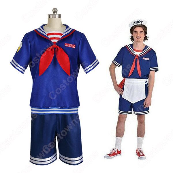 アイスクリーム屋 店員さん コスプレ衣装 【ストレンジャー・シングス シーズン3】 cosplay 制服元の画像