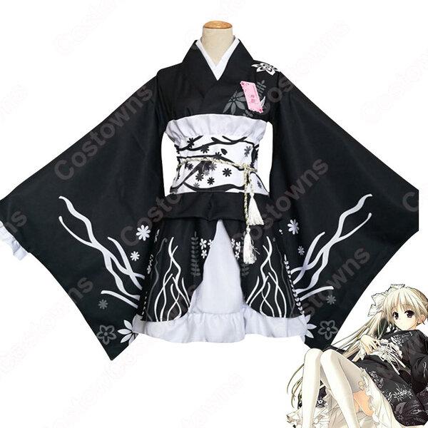 春日野穹 コスプレ衣装 【ヨスガノソラ】 夏祭り和服元の画像