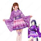 矢澤にこ 東條希 南ことり コスプレ衣装 【ラブライフ!】cosplay お祭り編 浴衣