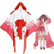 桃の精 コスプレ衣装 【陰陽師】 桃花妖 着物