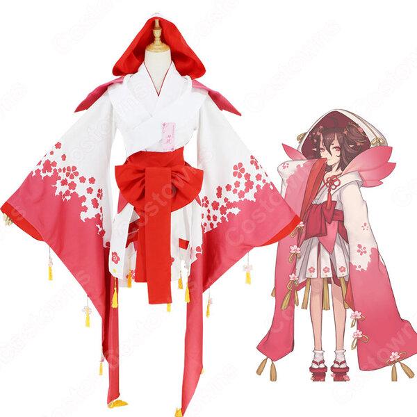 桃の精 コスプレ衣装 【陰陽師】 桃花妖 着物元の画像